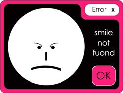 error smile
