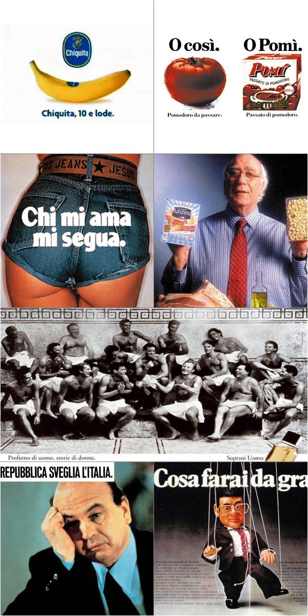 Omaggio pubblicità Emanuele Pirella