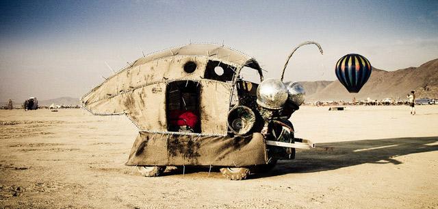 BurningMan, deserto del Nevada