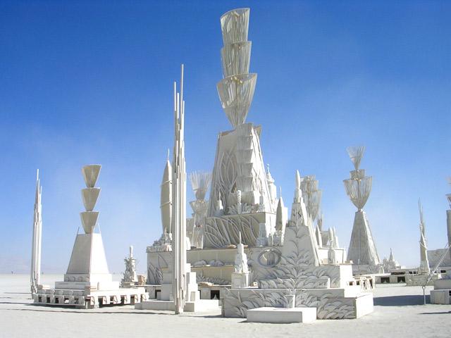 Burning Man festival 2011