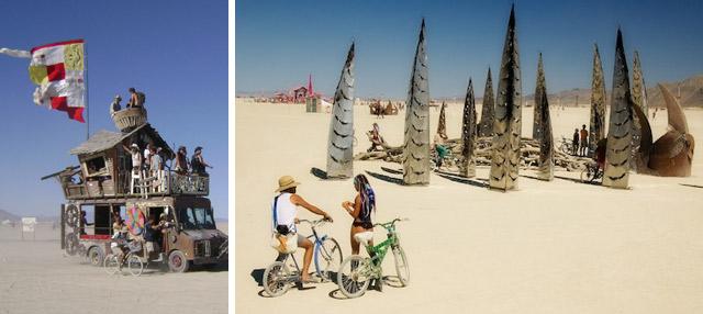 Burning Man deserto nevada festival 2011