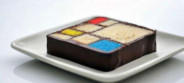 Modern Art Dessert