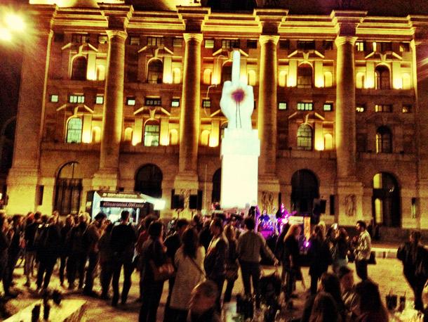 Seletti - Cattelan, Piazza degli Affari  - Photo RedMade