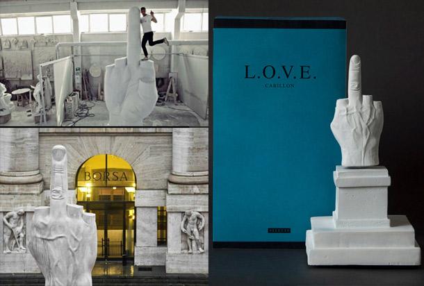 L.O.V.E. il ricercatissimo souvenir di Milano