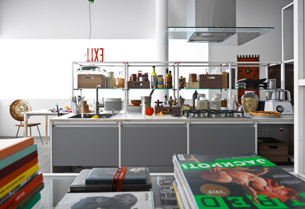 VALCUCINE, Kitchen Becomes Open!""