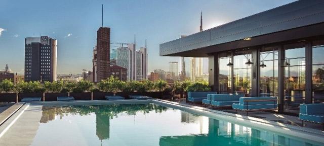 Milano sul tetto che scotta