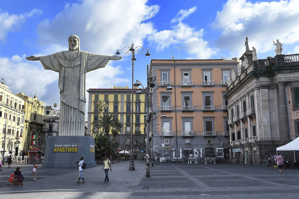 Fastweb Cristo Brasile