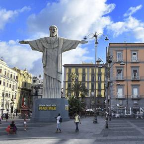 Fastweb Cristo Brasile mondiali