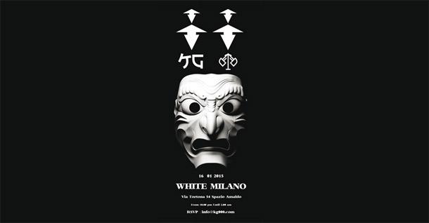KG WHITE MILANO
