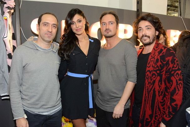 Ruggero-Daddato,-Belen-Rodriguez,-Dario-Daddato-e-Alessandro-Caporusso_White_ShopArt_Milano_060