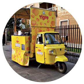 Nuovo Pit Stop per l'Ape Car La Toasteria Tigre