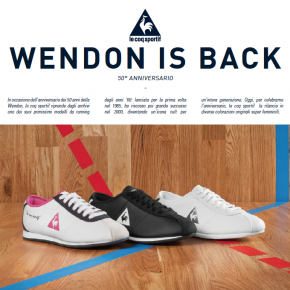 Wendon is back