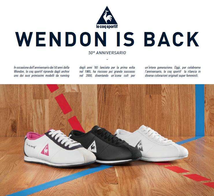 LE COQ SPORTIF_Wendon is back